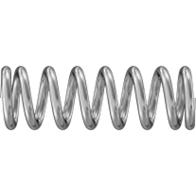 """Howa Weatherby Vanguard Trigger Corrosion-Resistant Precision Compression Springs 0.375"""" Long, 0.12"""" OD, 0.084"""" ID, 302 Stainless Steel 9002T411"""