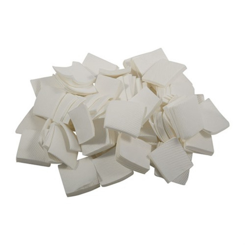 """Brownells 084-000-040WB 1000 Pack Micro-Fiber Patches, 1-3/8"""", fits .25-.270"""