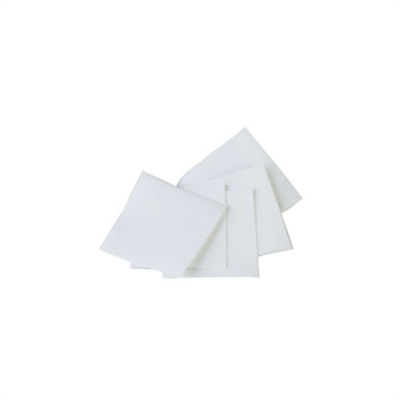 """Brownells 084-000-032WB 100 Pack Micro-Fiber Patches, 1-1/8"""", fits .22-.25 cal."""