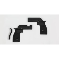 KRG Large Grip Panel Sets Tikka T3 Short Action (T3, T3x, and CTR versions) Black GPL-T3S-BLK