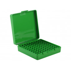 MTM Flip-Top Ammo Box 41 Remington Magnum, 44 Remington Magnum, 45 Colt (Long Colt) 100-Round Plastic Blue P-100-44-24