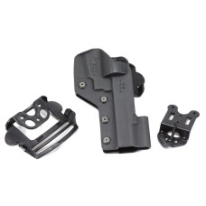 SPEED BEEZ® Smith & Wesson M&P R8 Tactical Revolver Holster Outside the Waist Band (Fits Smith & Wesson M&P R8) USPSA Legal Speed Rig SB_MPR8