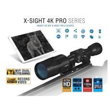 Цифровий Приціл ATN X-Sight 4K Pro Series Smart HD Digital Day/Night Rifle Scope 3-14x DGWSXS3144KP