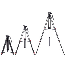 "ZeHuoGe 71"" Professional DV Video Camera Aluminum Adjustable Tripod Stand Fluid Pan Head 896465"