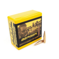 Berger Target Bullets 284 Caliber, 7mm (284 Diameter) 180 Grain VLD Hollow Point Boat Tail Box of 100 28405
