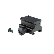 Trijicon Picatinny Rail Mount Adapter for RMR — Colt Knob Thumb Screw RM34