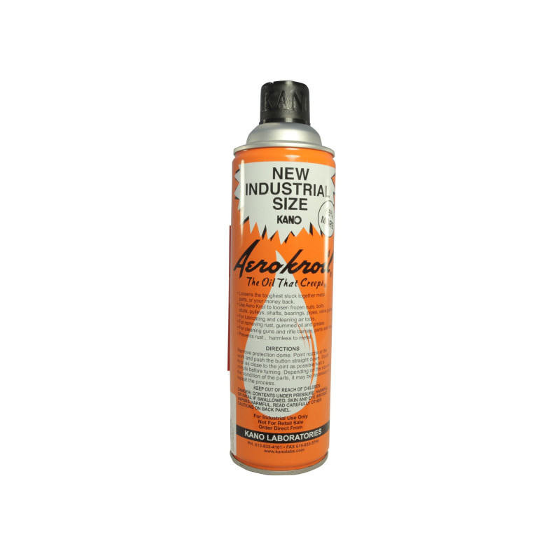 Kano Aerokroil Penetrating Oil and Bore Cleaning Solvent Aerosol KROIL10
