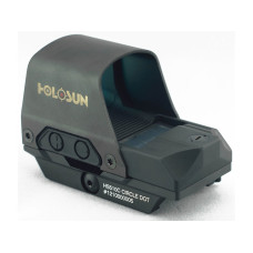 Holosun HS510C Reflex Sight 1x Selectable Reticle Quick Mount Solar/Battery Powered HS510C