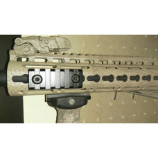 "Z-TAC Tactical Hunting 2"" 5 Slot Aluminum Keymod Scope Mount 55mm Picatinny Weaver Rail TR56UKM"
