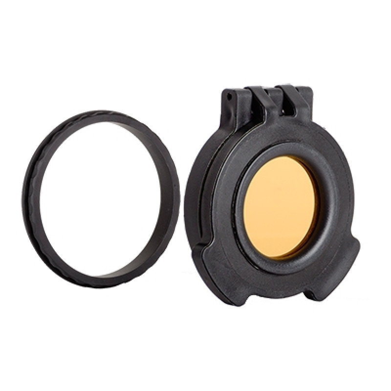 Tenebraex Objective Amber Flip Cover w/ Adapter Ring for 56mm Objective Lens KH5658-ACR